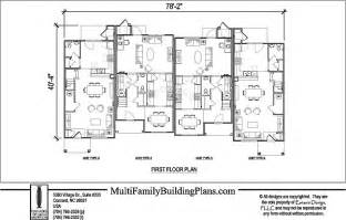 Townhouse Building Plans Townhouse Plans