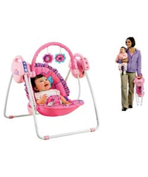 fisher price deluxe take along swing recall fisher price pink petals take along swing review