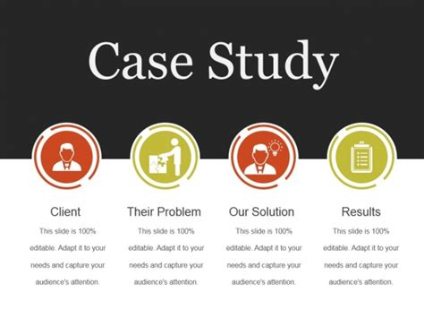 Case Study Template Images Template Design Ideas Study Powerpoint Template