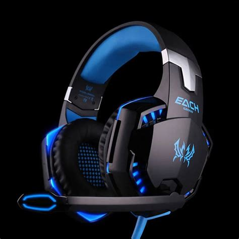 Kotion Each G2000 Gaming Headset Bass With Led Light original kotion each g2000 gaming headset bass computer headphones with microphone led