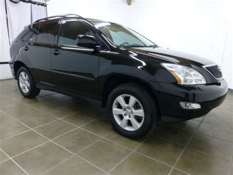 Lexus Rx330 Gas Mileage by Purchase Used 2004 Lexus Rx330 Awd Black Ext Black