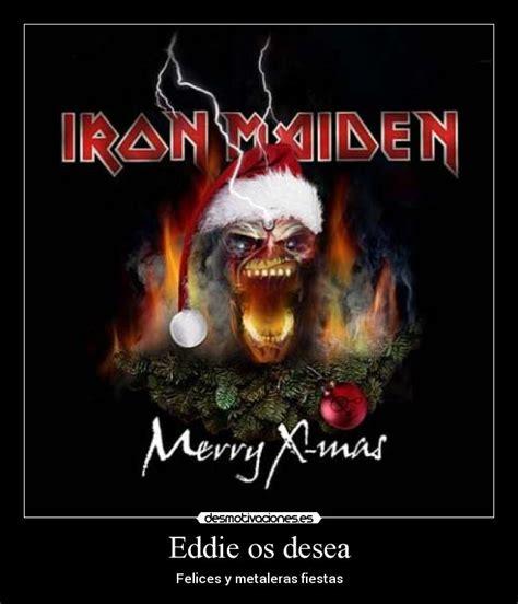 imagenes de navidad heavy metal carteles de eddie pag 10 desmotivaciones