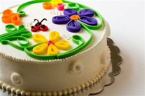 tutorial for quilling fondant quilled cake cakecentral com