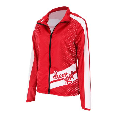 design cheer jacket move u ladybug custom cheer team jacket gp406