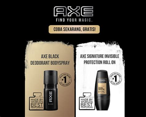 Parfum Axe Black Di Indo axe find your magic