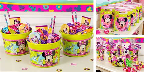 Minnie Mouse Party Giveaways - minnie mouse party favors stickers bracelets crayons more party city canada
