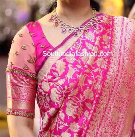 Simple Wardrobe Designs by 8 Stunning Blouse Patterns For Banarasi Silk Sarees South