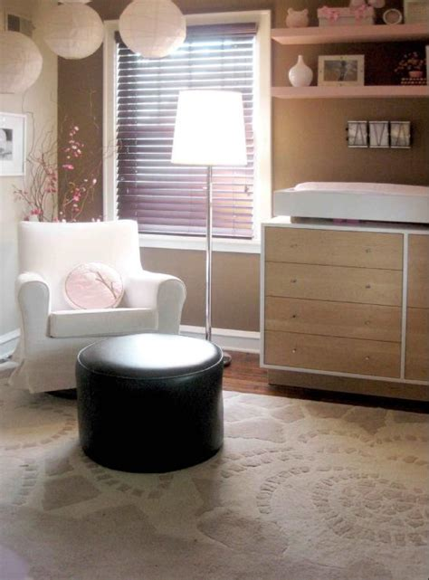 taupe nursery contemporary s room sherwin williams nuthatch carman design
