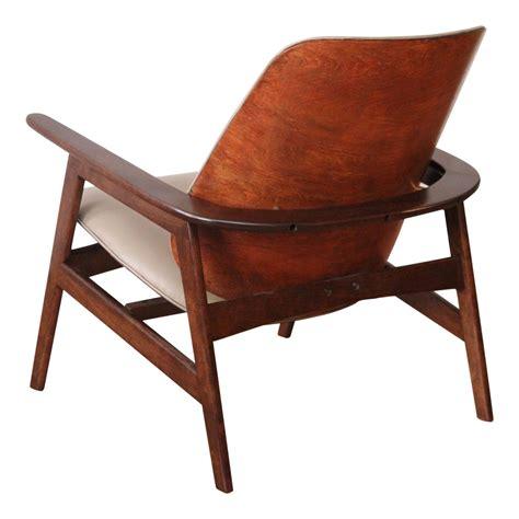Wood Lounge Chairs by Koda Wood Lounge Chair At 1stdibs