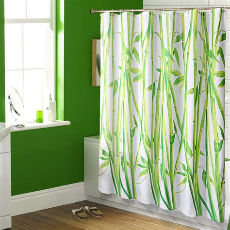 bamboo shower curtains high grade waterproof mouldproof european style bathroom