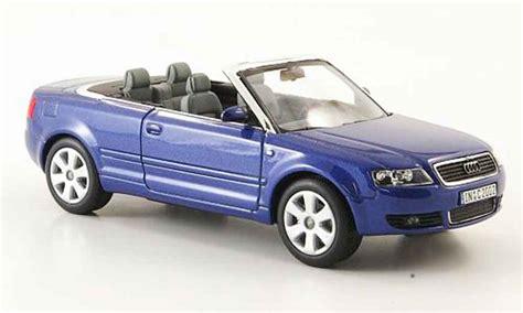 Diecast Audi A4 Midnight Blue Skala 1 43 By Minichs Audi A4 Cabriolet Blue 2006 Norev Diecast Model Car 1 43