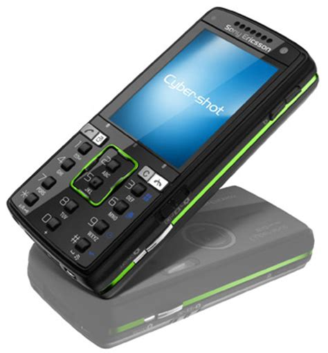 sony ericsson cyber shot k850i camera phone • the register