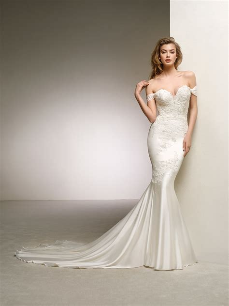 Silk Wedding Dress by Spectacularly And Wedding Dress Dante