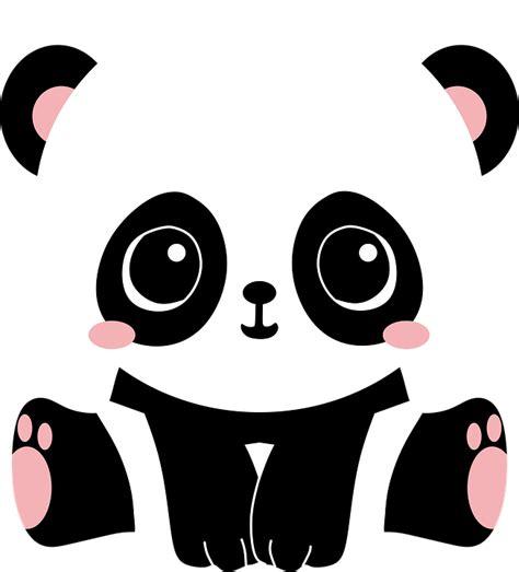 imagenes kawaii panda ilustraci 243 n gratis panda oso bear cute lindo imagen