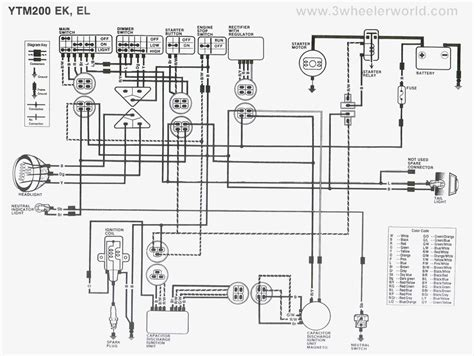 wiring diagram for yamaha enticer 340 yamaha starter