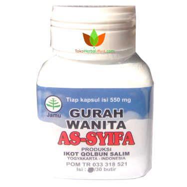 Promo Kapsul Gurah Assyifa Gurah As Syifa kapsul gurah wanita assyifa obat keputihan bau tidak sedap toko obat herbal di