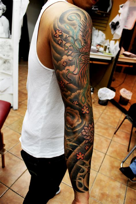 chinese sleeve tattoos asian sleeve 2 by richroyalty on deviantart
