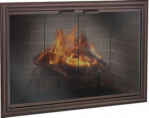 design specialties glass fireplace doors arlington heights