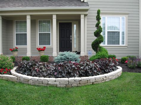 front flower bed ideas flower beds in front of house front yard landscaping with