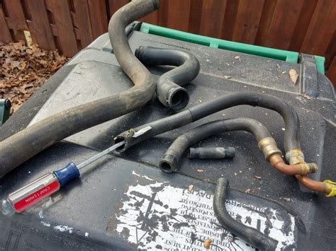 diy   glt turbo coolant hoses   radiator hoses page