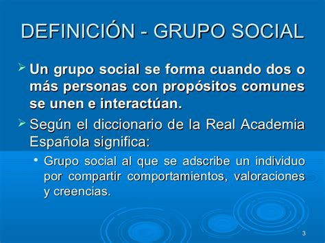 Alejandra Gil grupos sociales