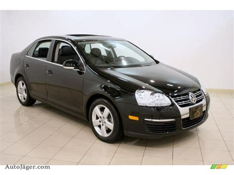 jetta volkswagen black 2008 volkswagen jetta black 200 interior and exterior