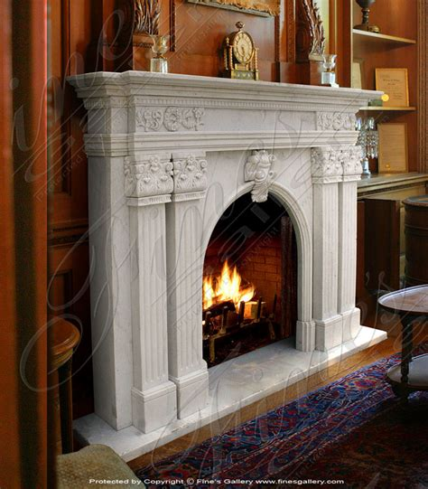 Small Marble Fireplaces by Small White Marble Fireplace Fireplaces