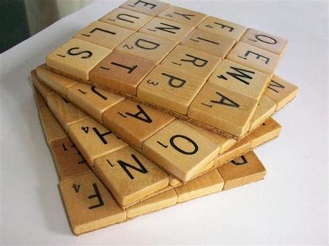 is sine a scrabble word handmade scrabble coaster set gadgetsin