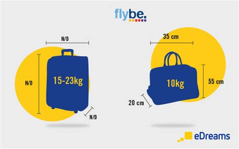 airline cabin baggage flybe baggage allowance