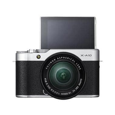 Kamera Fujifilm Tx 10 jual fujifilm xa10 1650 kamera mirrorless silver harga kualitas terjamin blibli