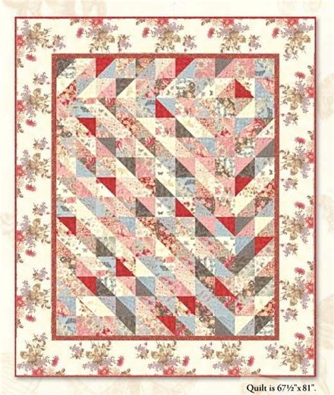 Reproduction Quilt Kits by Sweet Quilt Kit Pattern Beautiful Moda Antique