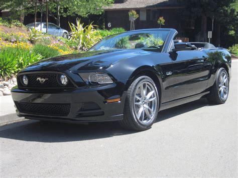 mustang convertible black black ford mustang gt premium convertible