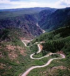 scenic drives black canyon of the gunnison national park