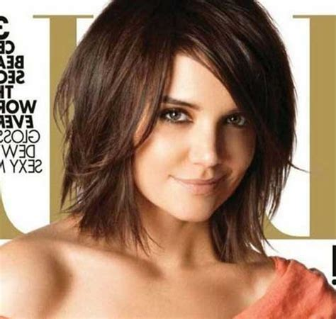 is a bob hair style good for fatty good katie holmes bob haircuts katie holmes bobs and