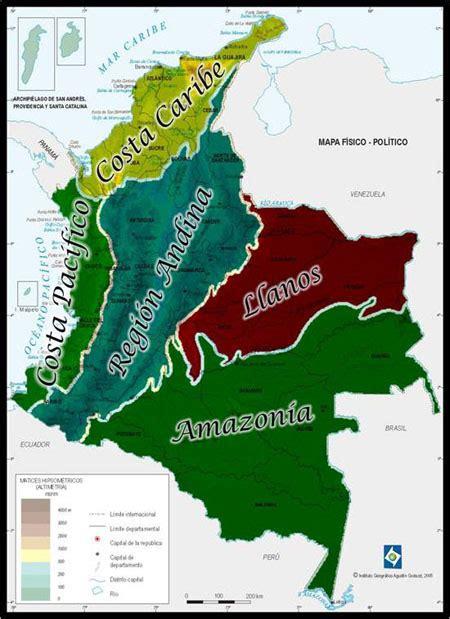 imagenes regiones naturales de colombia un peque 241 o viaje por la m 250 sica colombiana regiones