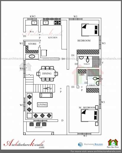 kerala home design 1200 sq ft best three bedrooms in 1200 square feet kerala house plan