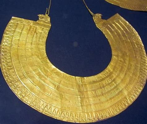 egyptian necklace collar history of fashion and design