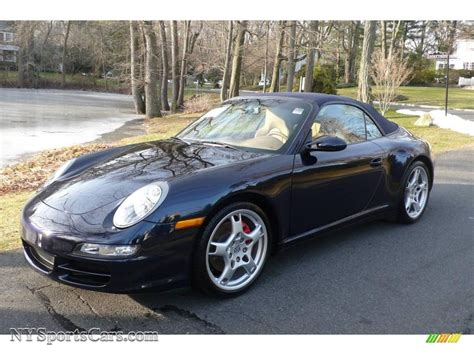 porsche midnight blue 2006 porsche 911 carrera 4s cabriolet in midnight blue