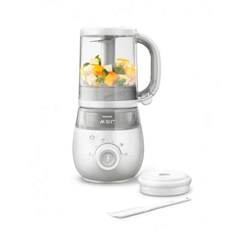 Baby Food Blender India Philips Avent Baby Food Steamer Blender Scf875 02