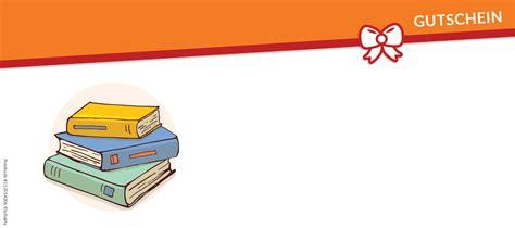 Vorlage Word Buch b 252 cher gutschein vorlagen und vordrucke auf gutscheine de