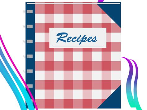 recipe book backgrounds presnetation ppt backgrounds