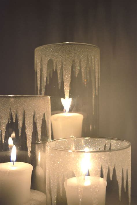 Candles And Candle Holders Best 25 Glitter Candle Holders Ideas On Diy