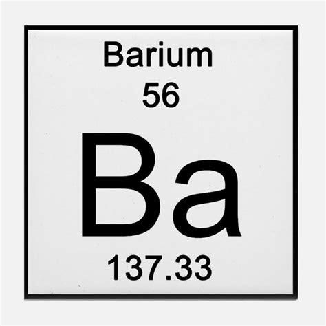 Periodic Table Ba by Element Barium Coasters Cork Puzzle Tile Coasters