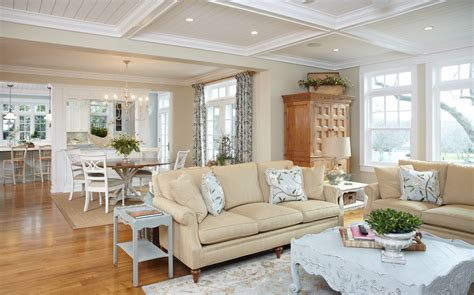 Lake House Living Room Decorating Ideas by Beyond White Bliss Of Soft And Beige Living Rooms