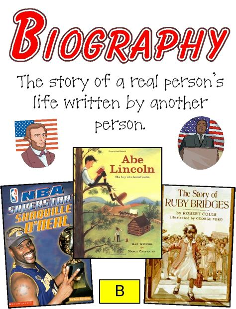 biography definition pdf genres posters