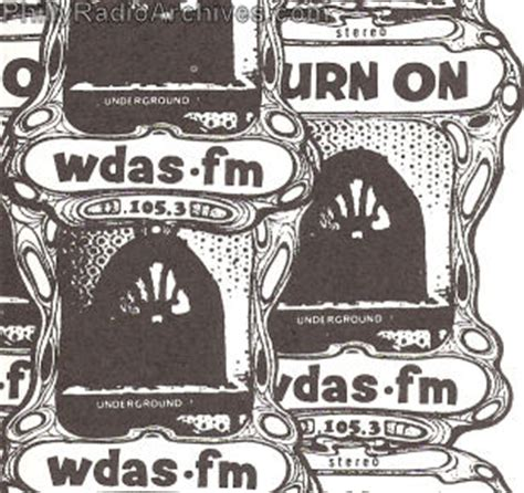 history of philadelphia radio station 105.3 wdas