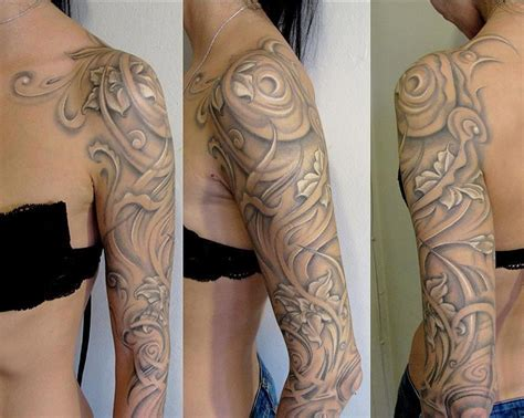 light grey tattoo amazing white accents ideas