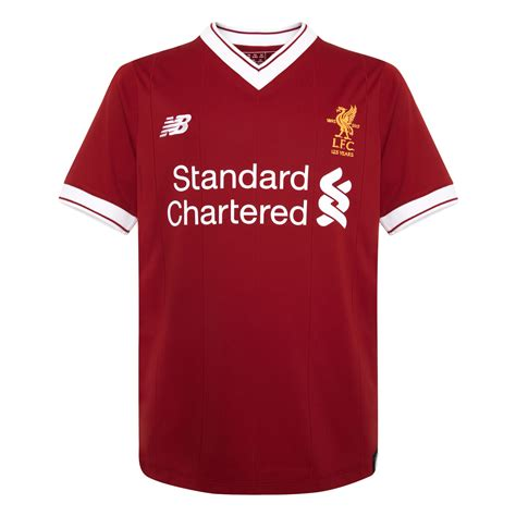 T Shirt Liverpool Big liverpool fc lfc replica home shirt 17 18 official ebay