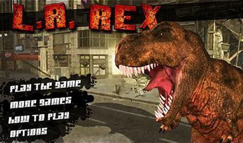 tyrannosaurus rex l a rex il gioco