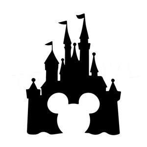 walt disney castle silhouette at getdrawings.com | free